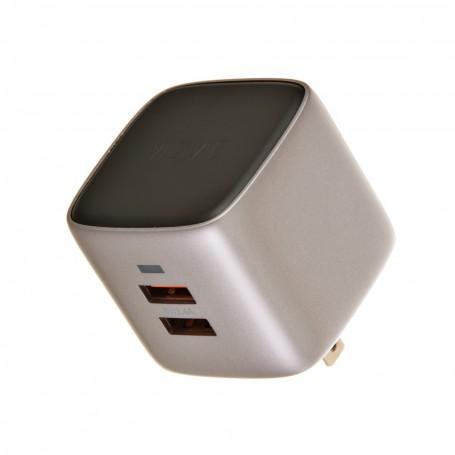 Cargador para pared 2 puertos USB 2.4mAh VIDVIE