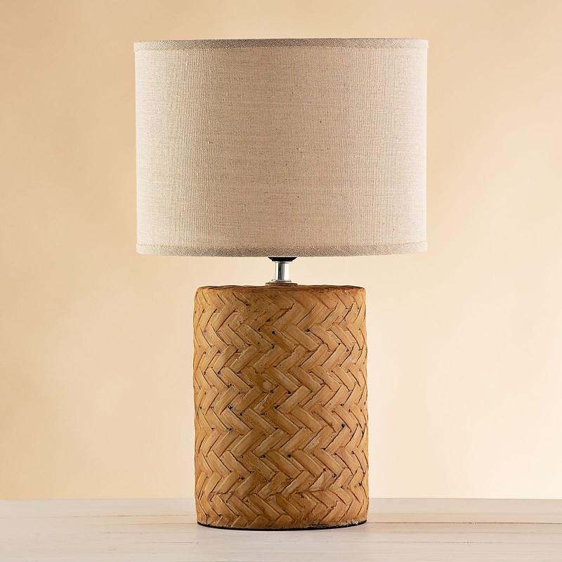 Lámpara de mesa Tejido Haus