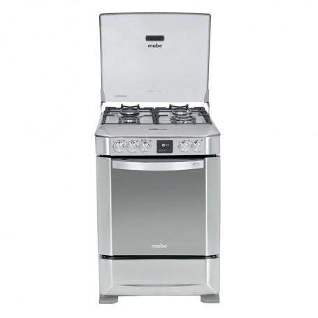 Mabe Cocina a gas 4 quemadores Grill / Encendido eléctrico 60cm EM6085FX0