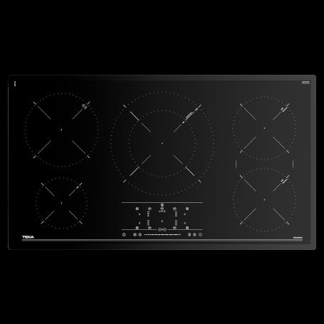 Teka Plancha cocina de inducción 5 zonas 1800W / 2500W / 3200W / 3700W IR 9530