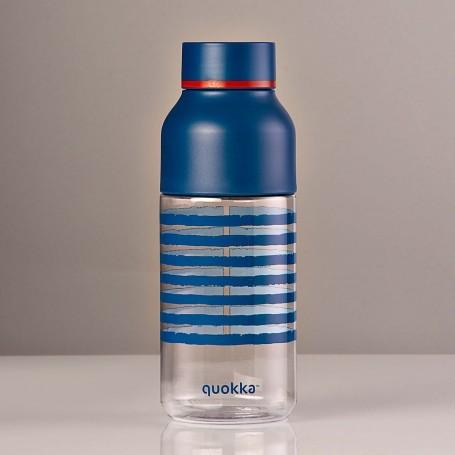 Botella tomatodo con soporte para celular Rayas Quokka