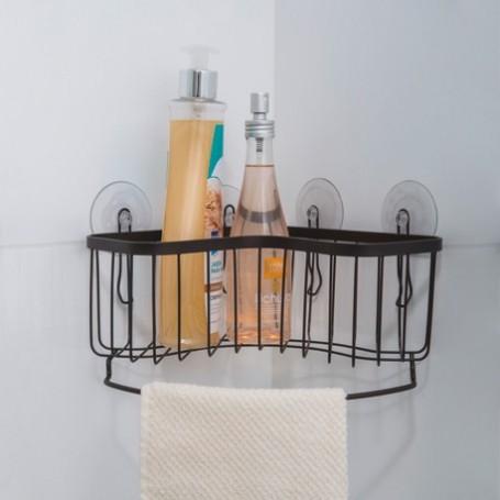 Organizador esquinero para baño con ventosa