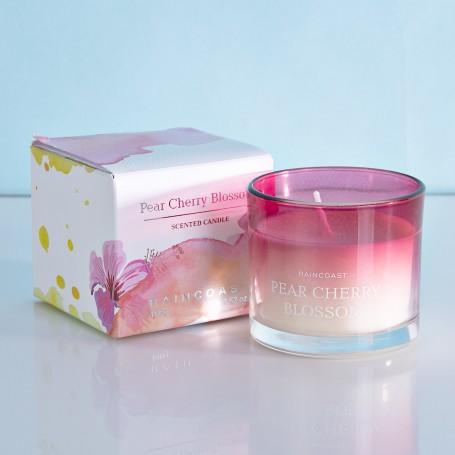 Vela frasco Pear Cherry Blossom