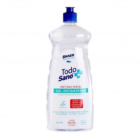 Gel antibacterial Todo Sano 69.9% 1000ml Binner