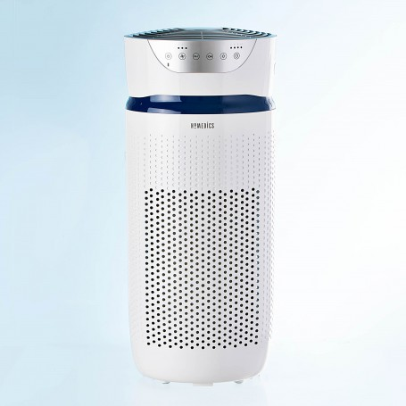 Purificador Aire 5-en-1 360° 18.1m2 con Luz Ultravioleta / Temp Elimina Virus / Gérmenes / Bacterias 99.97% AP-T30WT Homedics