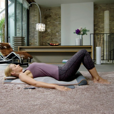 Mat estiramiento Yoga 4 programas / 3 niveles con control remoto autoprogramado BM-AC105 Homedics