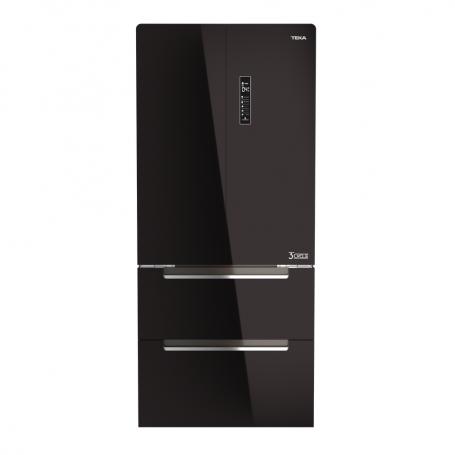 Teka Refrigerador FD Dos Cajones 537L Negro
