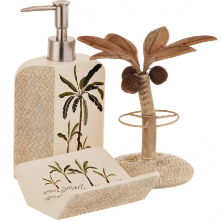 Colección de baño Palmeras Fiji II Croscill