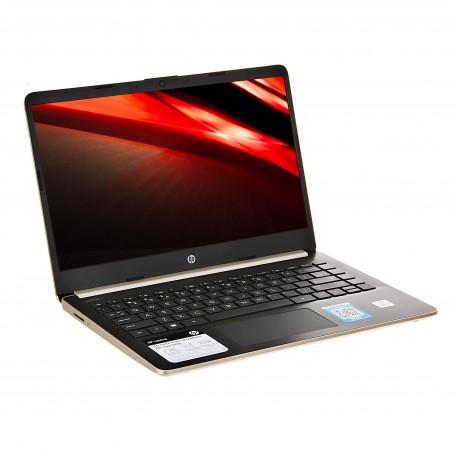 """HP Laptop 14-dq1038wm Core i3-1005 1.2GHz 4GB / 128SSD Windows 10 Home / Inglés / Gold 14"""""""