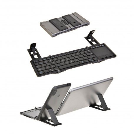 Teclado Bluetooth plegable para tablet / celular Loud