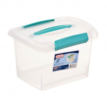 Caja organizadora con tapa y agarradera Sterilite