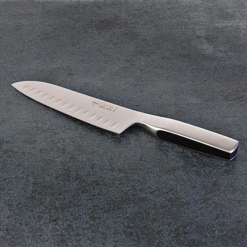 """Cuchillo Santoku 7"""" / 16.5cm Acero Forjado Edge Woll"""