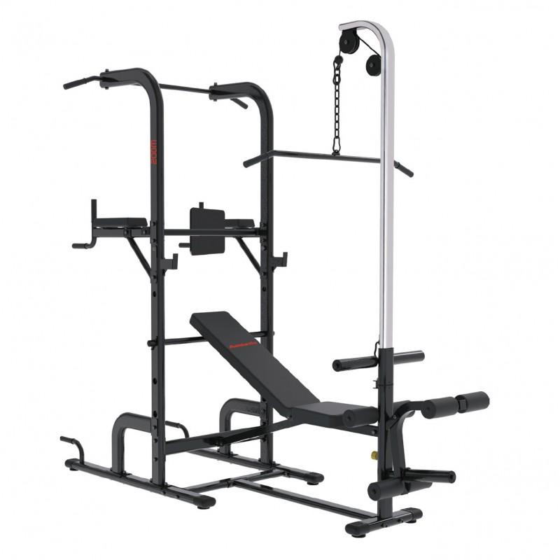 Banco para pesas Multifunción 60kg / Peso máximo 120kg 200M Athletic