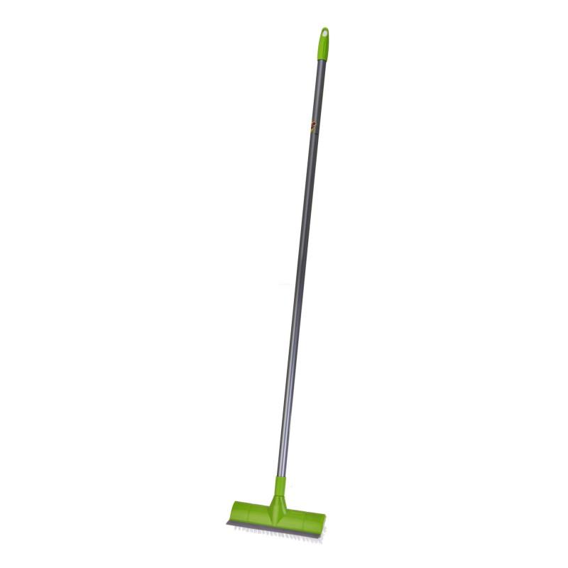 Cepillo de piso con mango y barre agua