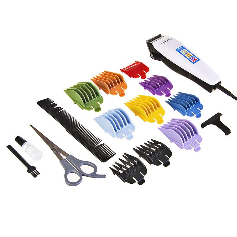Recortador para cabello Color Code / Cuchillas Autoafilables 17 piezas Wahl