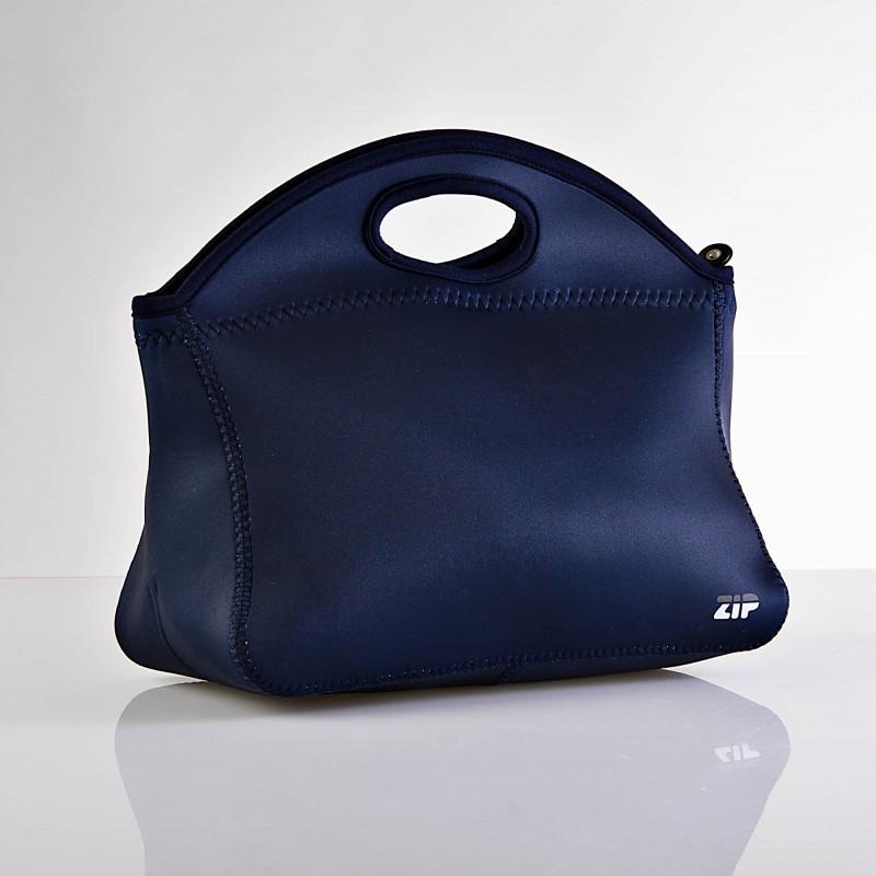 Bolso lonchera Sólido Azul