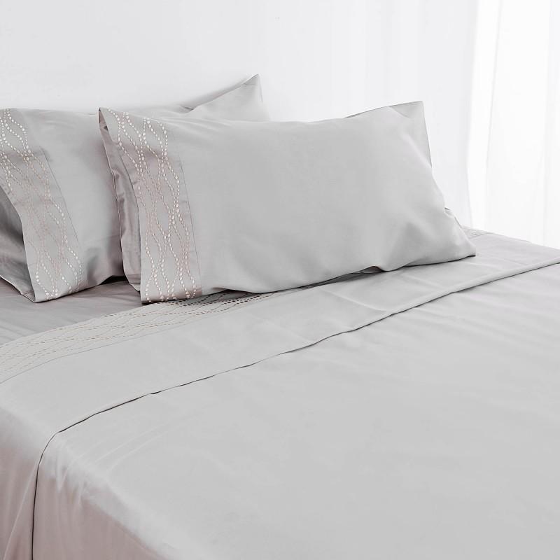 Juego de sábanas Puntos Duchamp 300 hilos Bovi Francisco