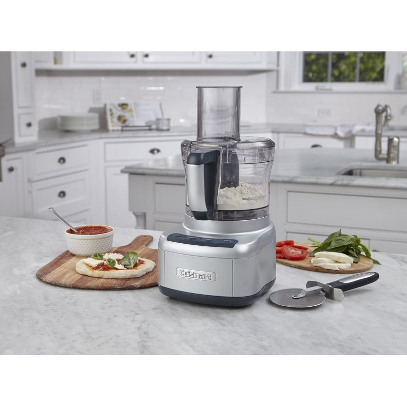 Cuisinart Procesador de alimentos con 2 discos reversibles 8 tazas 350W Silver FP-8SVP1