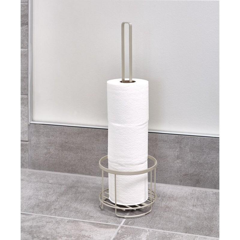 Porta papel de baño 4 servicios Everett Roll Silver Interdesign