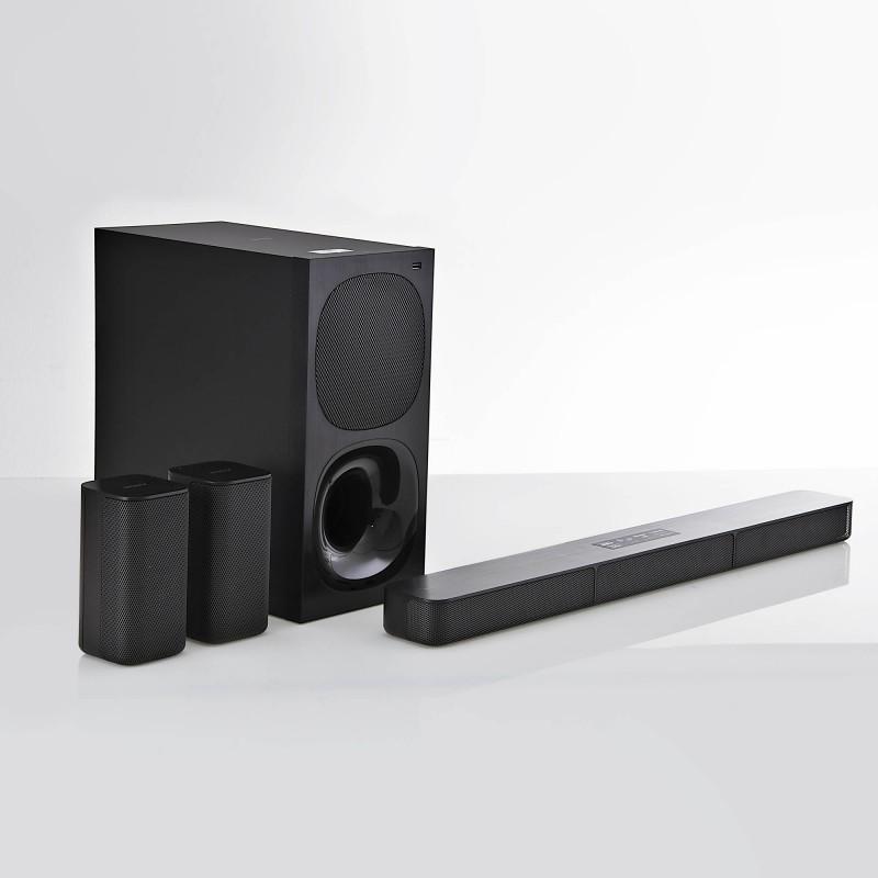 Sony Barra de sonido 5.1 Bluetooth / USB / HDMI / Audio óptico con subwoofer 400W HT-S20R/C