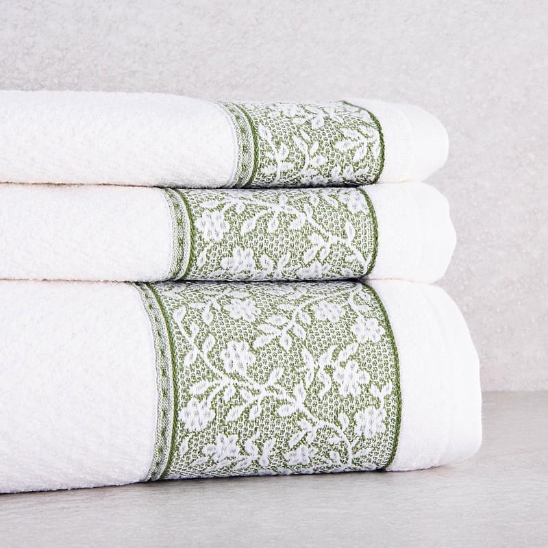 Colección de toallas Cenefa Flores Belfama