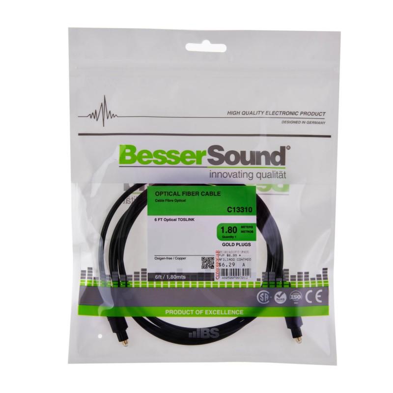 Cable de audio óptico Besser Sound