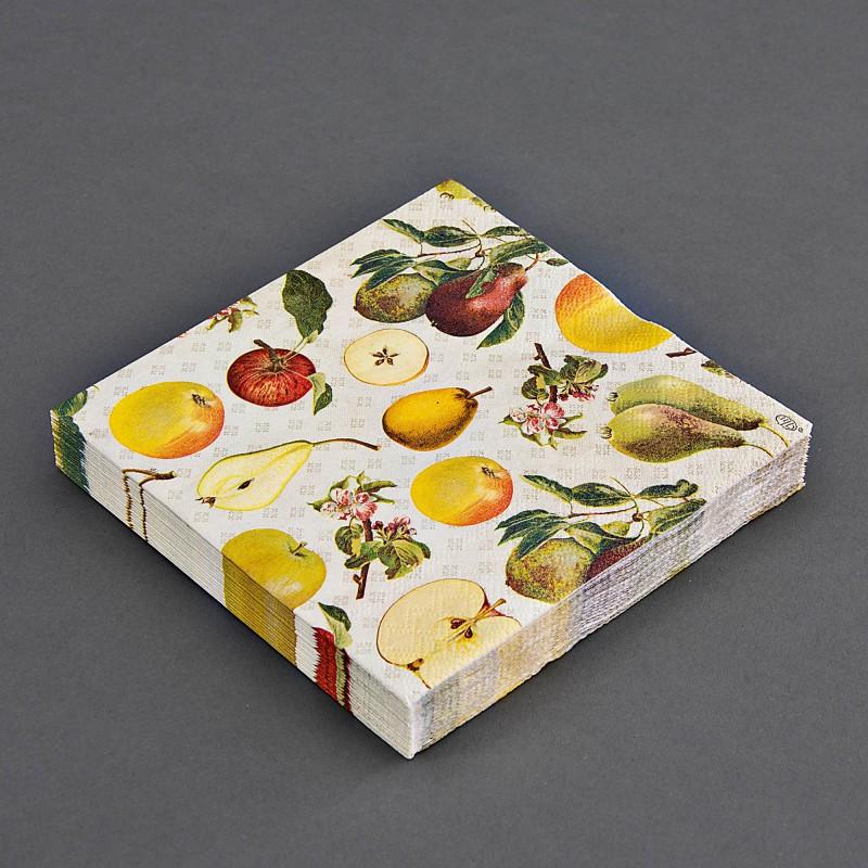 Juego de 20 servilletas lunch Frutas