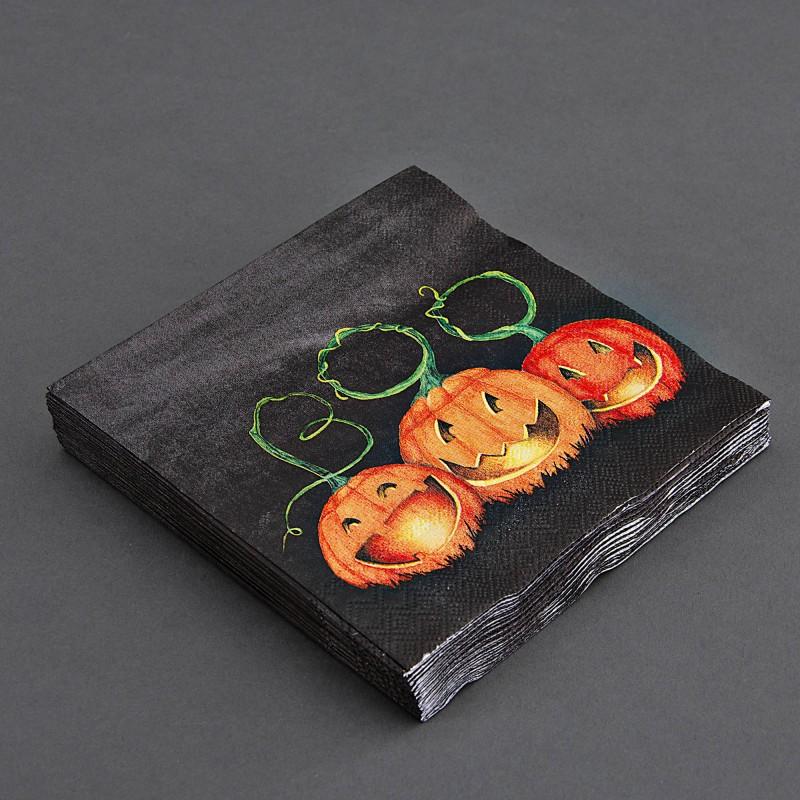 Juego de 20 servilletas lunch Halloween