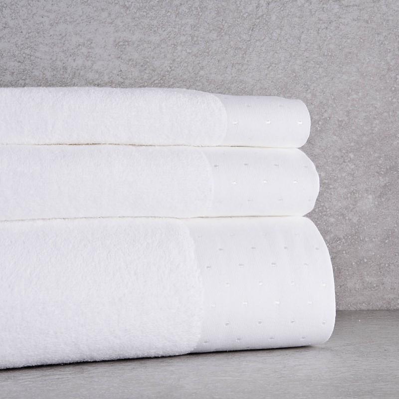 Colección de toallas Cenefa Puntos Belfama