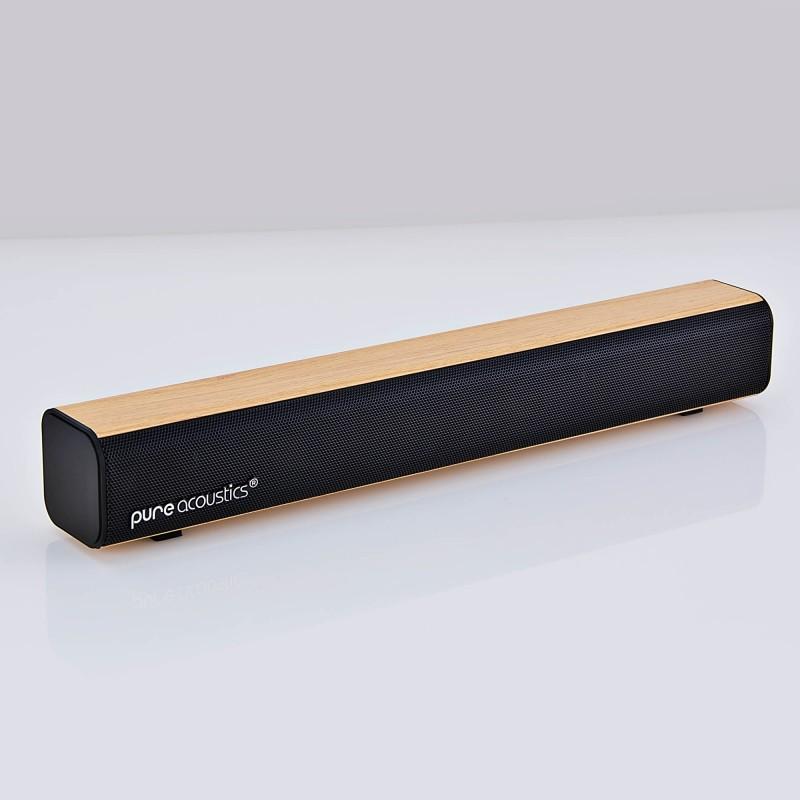 Soundbar recargable Bluetooth / 2.0 Canales / 3.5mm AUX / FM HDS-55 Pure Acustic