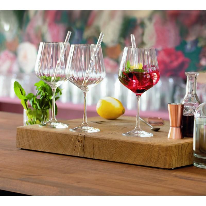 Copas Gin con sorbete y cepillo 9 piezas Gin&Tonic Nachtmann