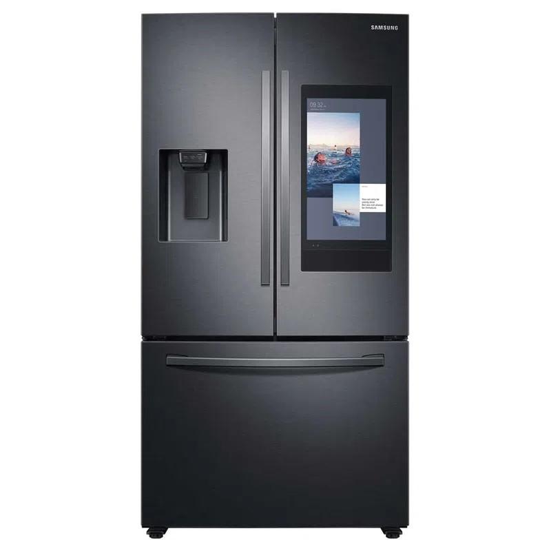 Samsung Refrigerador F/D Inverter con dispensador / Family HUB Wi-Fi 27' / 751L RF27T5501B1/ED
