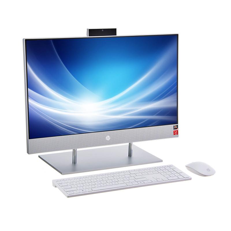 "Computadora HP AIO 24-dp0007la Ryzen 5-3550H 8GB / 1TB / 256GB SSD Win10 Home 23.8"""