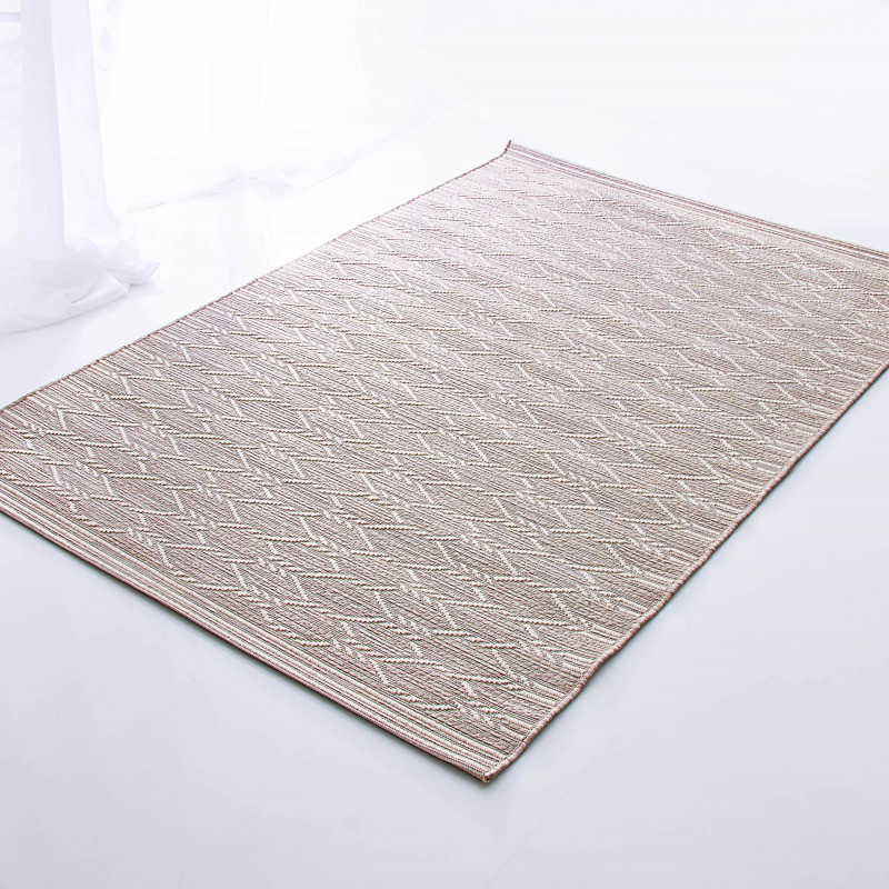Alfombra para exterior / interior Jersey Beige Mc Three