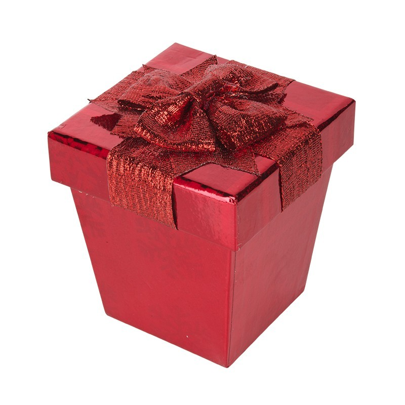 Caja para regalo con lazo extra pequeña