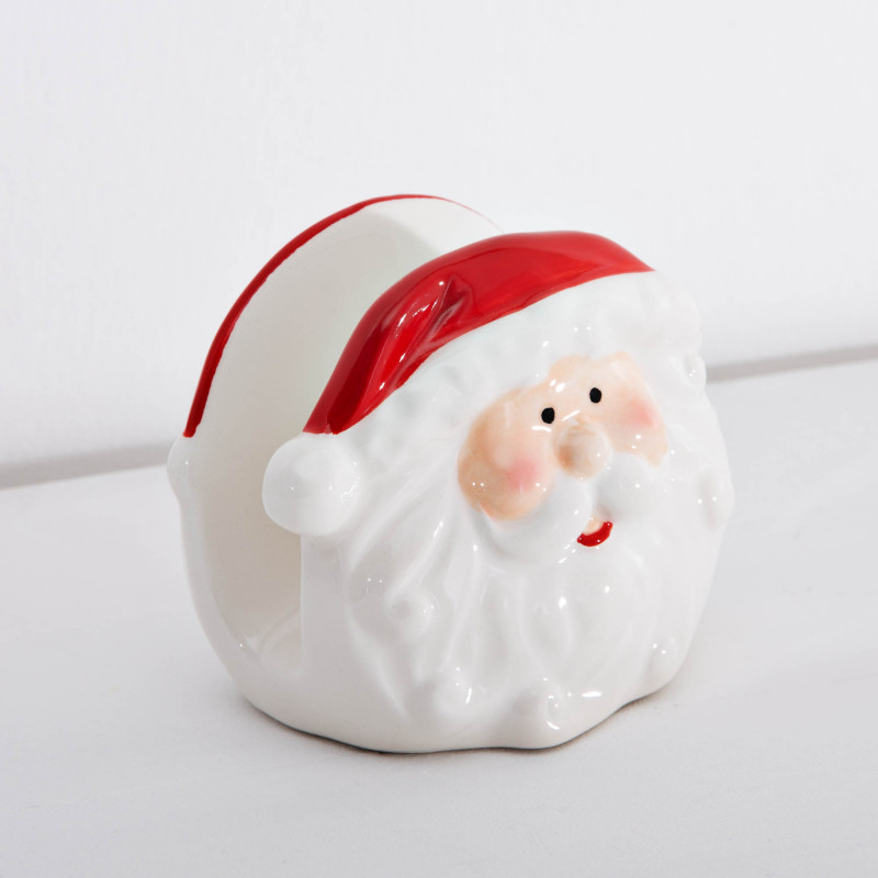 Servilletero Santa
