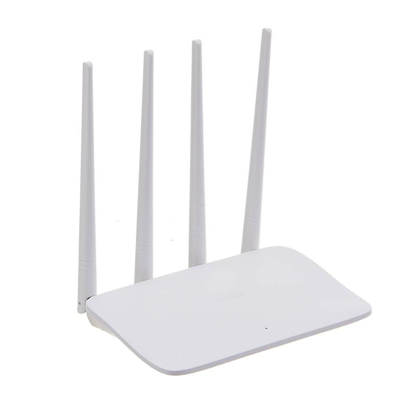 Router Cuatro Antenas N300 5DBI F6 Tenda