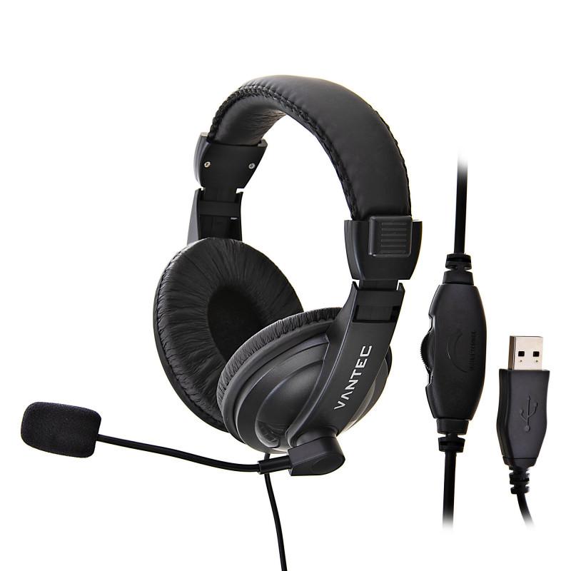 Audífonos para computador USB VT-VT-HS750B Vantec