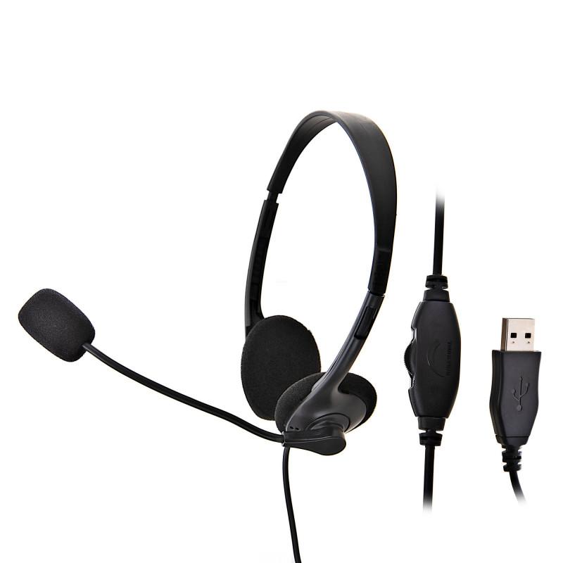 Audífonos para computador USB VT-HS101B Vantec
