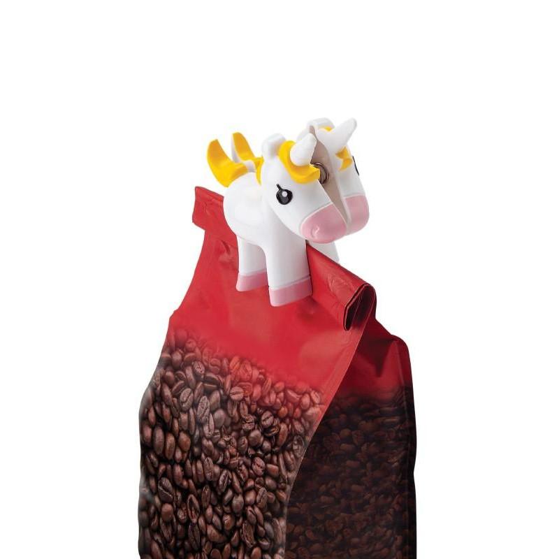Juego de 2 clips para sellar bolsas Unicornio Joie