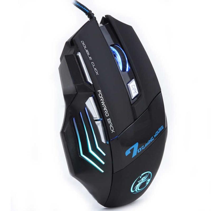 Mouse gaming alámbrico X7