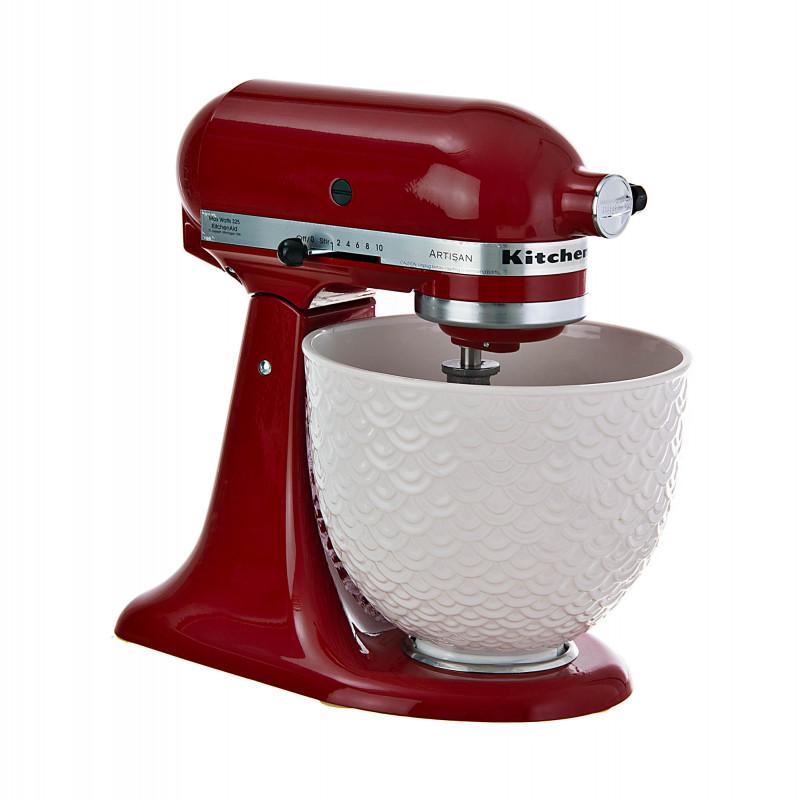 KitchenAid Batidora pedestal con tazón de cerámica 10 velocidades / 325W KSM156WMER Artisan