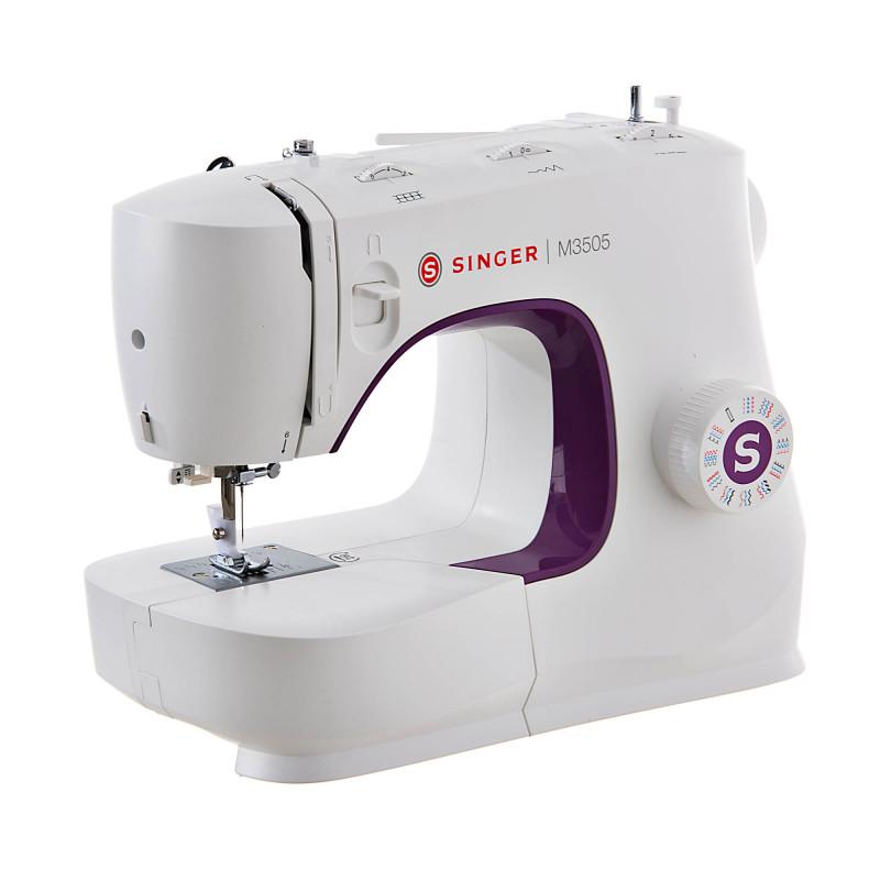 Máquina de coser 32 puntadas con ojalador M3505 Singer