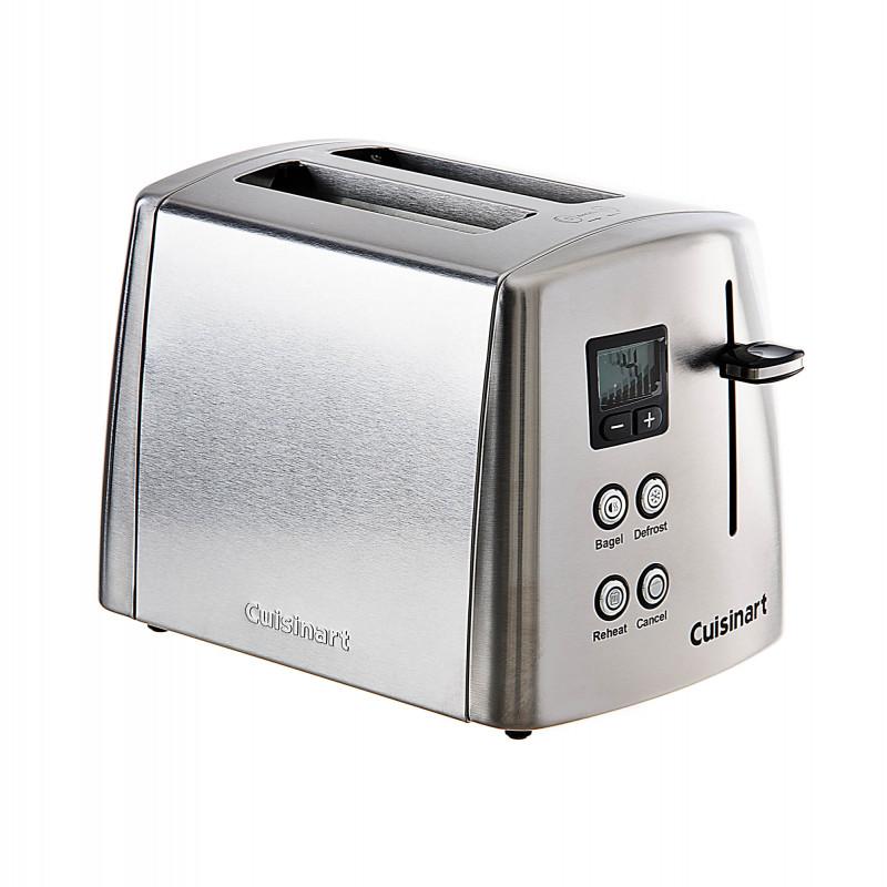 Cuisinart Tostadora 2 panes Descongela / Recalienta 900W CPT-415P1