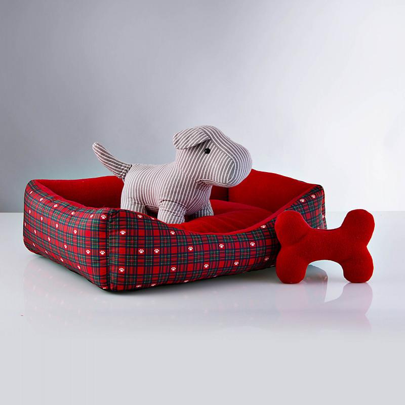 Cama para mascota Holiday Escocés