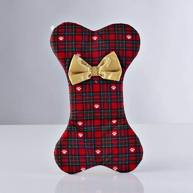 Bota para mascota Holiday Escocés