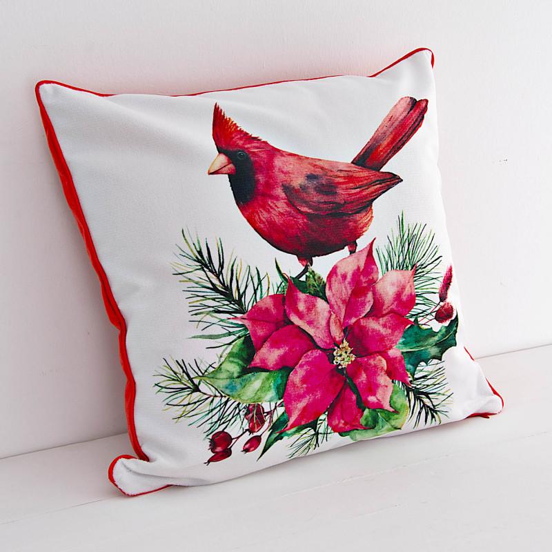 Forro para cojín Pájaro Cardenal Haus