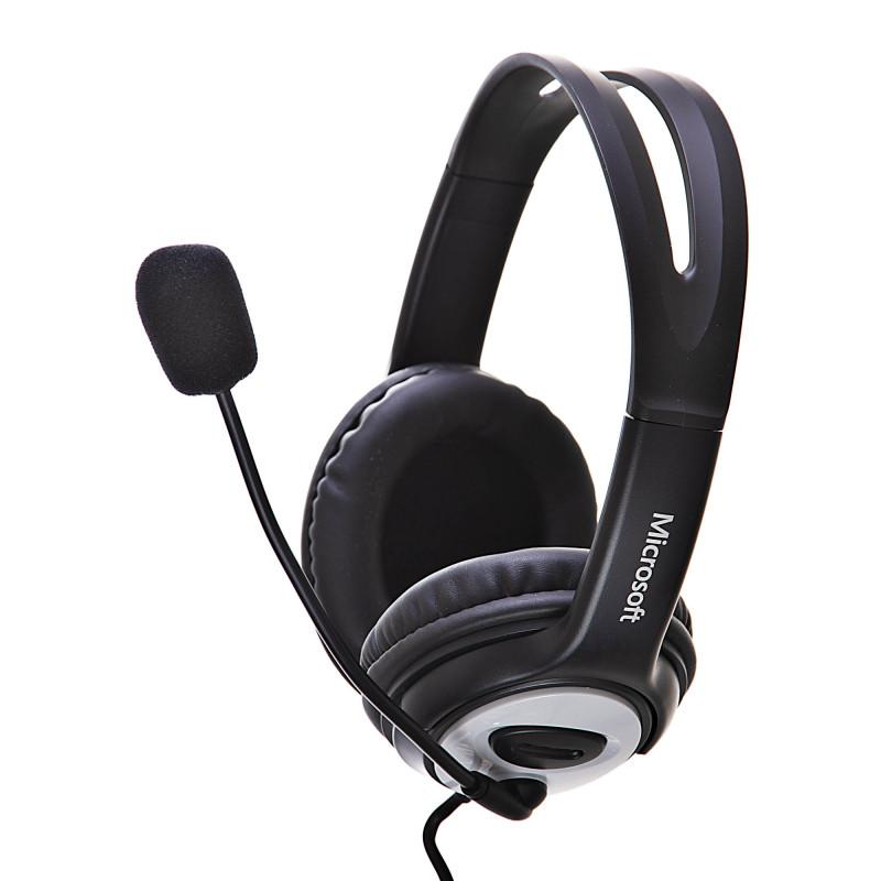 Audífonos para computador USB con micrófono LifeChat LX-3000 Microsoft