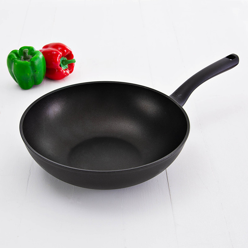 Sartén wok antiadherente / aluminio para inducción Cenit Fissler