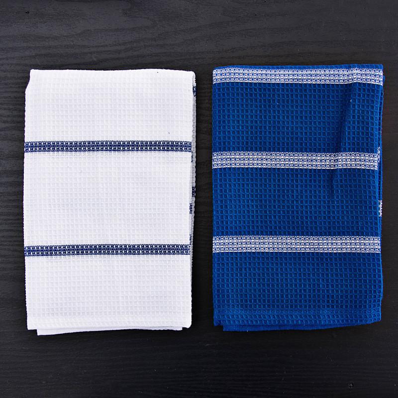 Juego de 2 toallas de cocina Líneas Haus